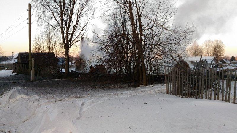 Два человека погибли напожаре вАфанасьевском районе