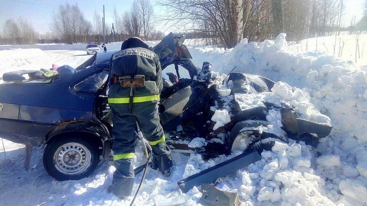 ВСлободском районе случилось ДТП вгрузовым автомобилем. есть жертвы
