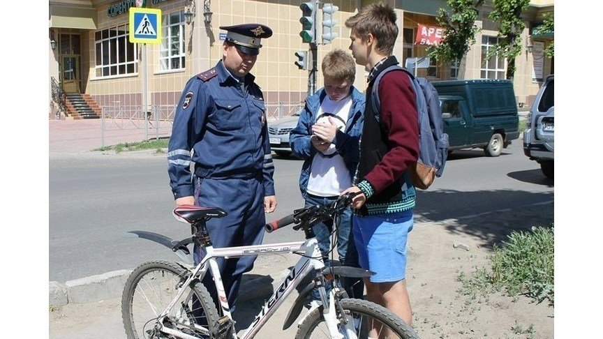 ответственность за нарушение пдд велосипедистами - фото 8