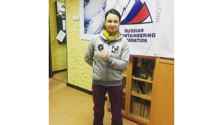Кировчанка выиграла 1-ый этап Кубка РФ поледолазанию