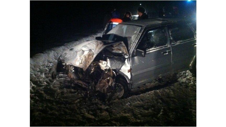 Нетрезвый шофёр «Лады» влетел вМАЗ вБелохолуницком районе