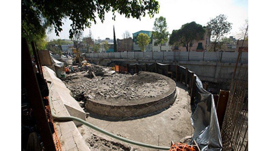 ВМексике под супермаркетом отыскали старинный храм ацтеков