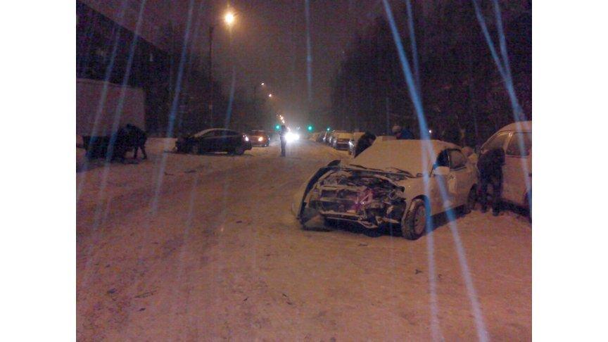 Шесть авто столкнулись наНекрасова вКирове
