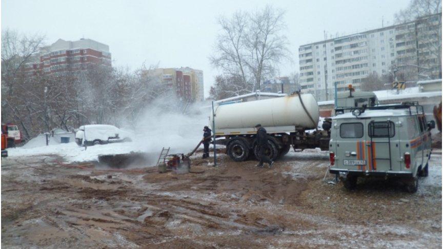 ВКирове без тепла остались 15 жилых домов идетский парк