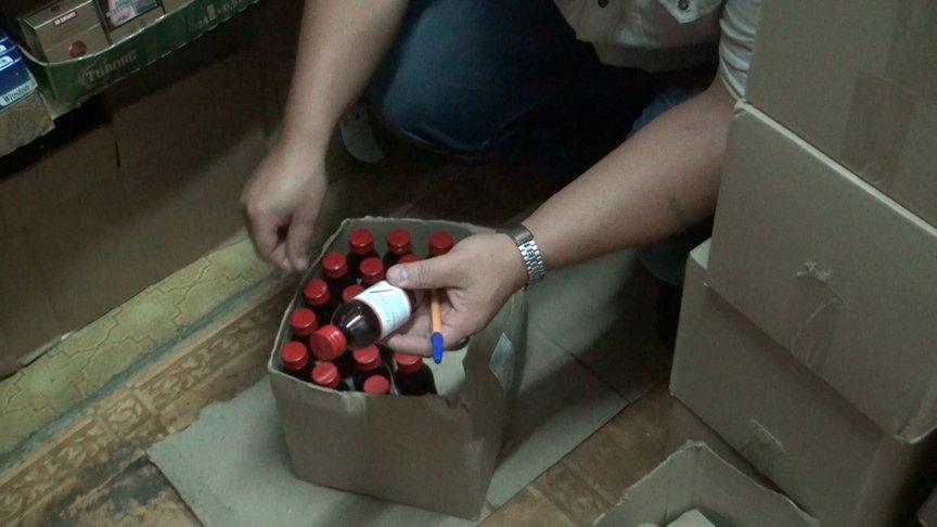Затри дня областной Роспотребнадзор арестовал 4070 бутыльков спиртосодержащих лосьонов