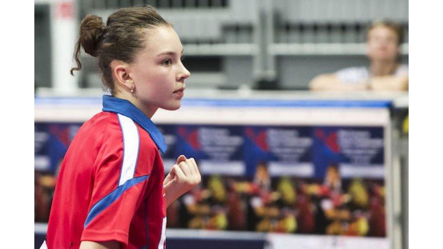 Кировчанка завоевала бронзу намолодежномЧЕ понастольному теннису