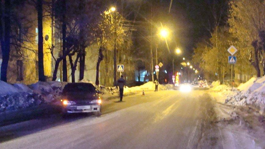 ВКирове напешеходном переходе сбили 22-летнюю девушку
