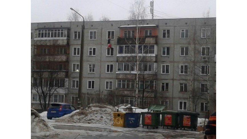 ВКирове девушку держали заноги изокна 5-ого этажа