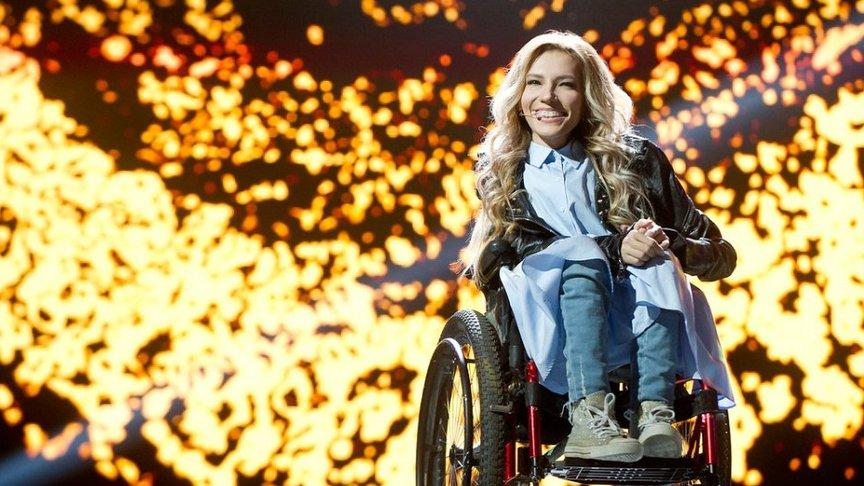 На «Евровидении-2017» от РФ выступит необыкновенная эстрадная певица — Неограниченные возможности музыки