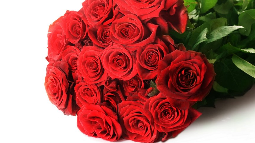 Слобожанин похитил немалый букет роз, чтобы загладить вину перед собственной девушкой