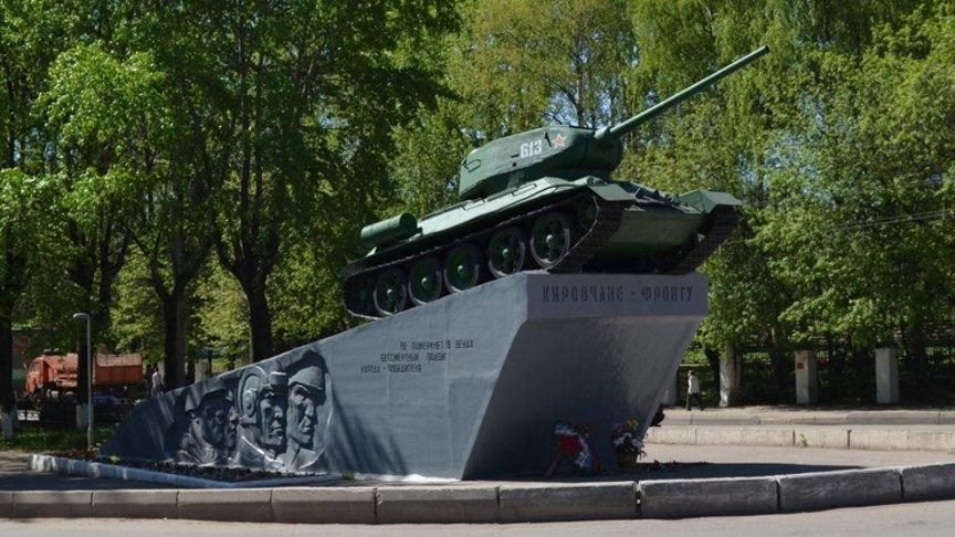 ВКирове отреставрируют танк наОктябрьском проспекте