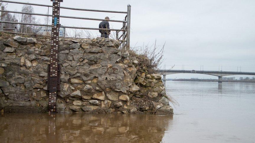 Вода вВятке поднялась практически на3,5 метра от«нулевого поста»