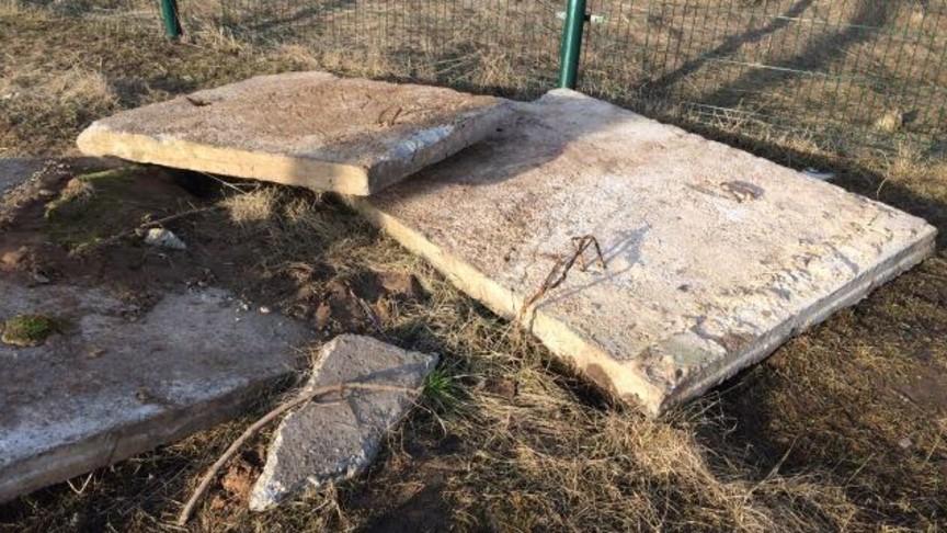 ВКировской области наребёнка рухнула бетонная плита