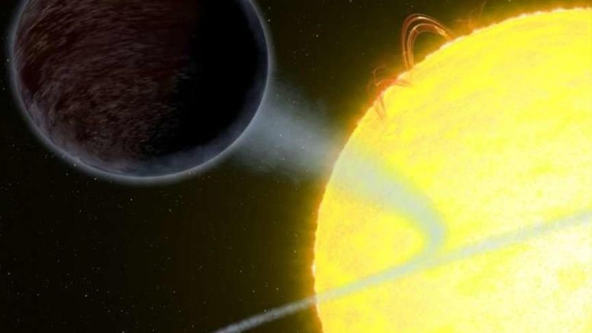 Ученые обнаружили вГалактике самую темную планету