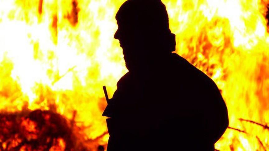 ВСлободском районе вовремя пожара умер мужчина