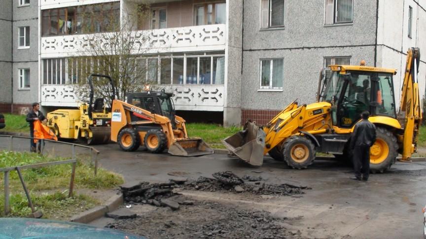 ВКирове начинают принимать заявки наремонт дворов летом