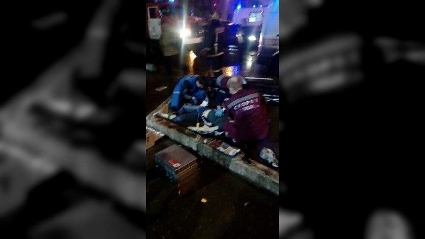 ДТП наулице Труда: девушку пытались реанимировать напроезжей части