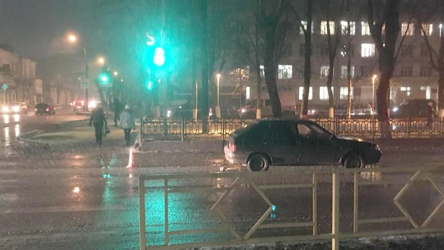 Вцентре Кирова сбили 5-летнего ребенка