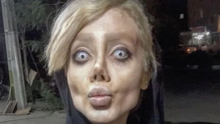 Фанатка Анджелины Джоли превратила себя в«труп невесты» впогоне заидеалом