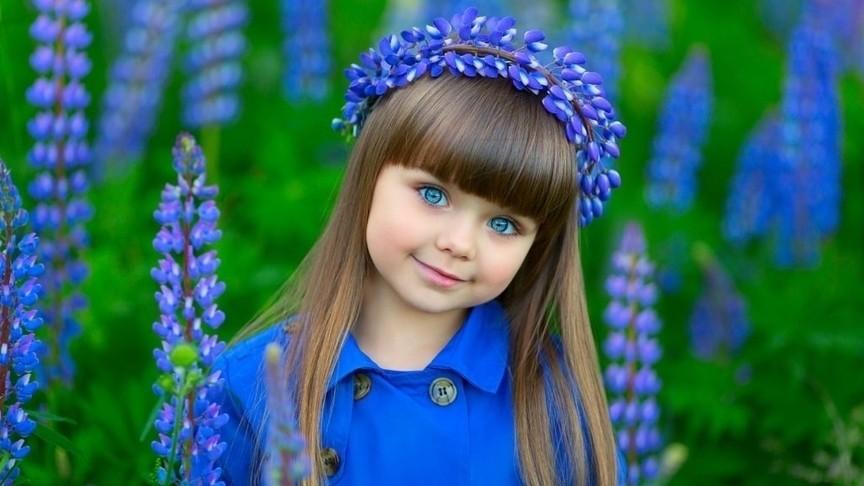 Кто самая красивая девочка вмире? Она из РФ !