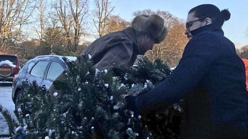 Дедушка Мороз подготовил новогодний подарочек для В. Путина