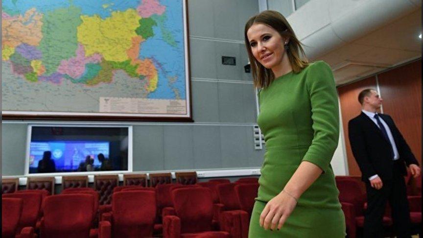 Собчак стала кандидатом впрезиденты Российской Федерации