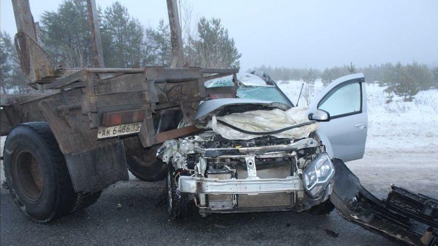 Авария около Советска: ГАЗ врезался вотцепившийся прицеп