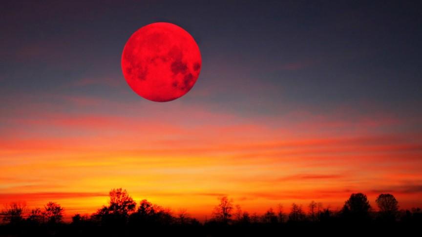 Уже вконце этого месяца граждане Земли смогут полюбоваться впечатляющим «кровавым суперлунием»