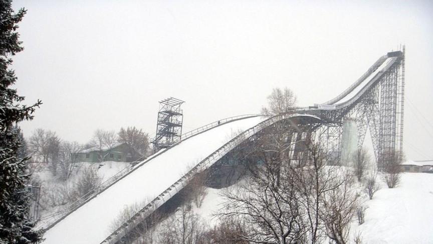 Несоответствует условиям: вКирове демонтируют трамплин К-90