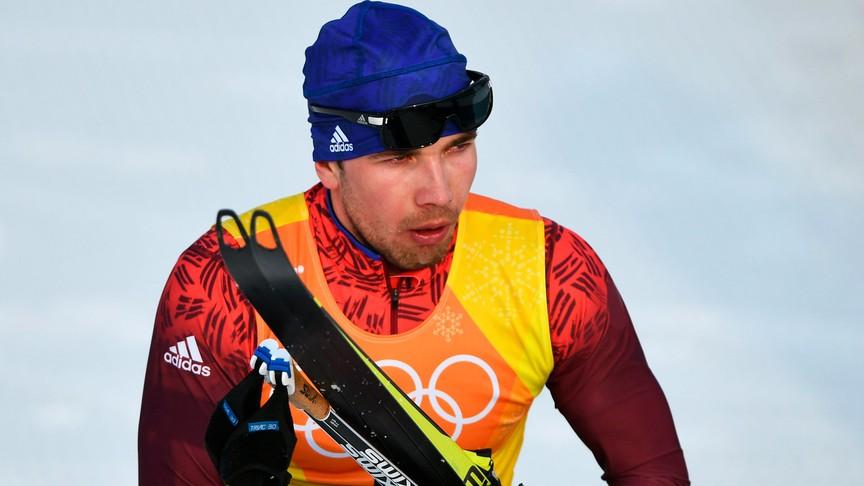 Александр Большунов одержал победу серебро волимпийском марафоне